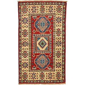 1' 10 x 3' 3 Kazak Oriental Rug