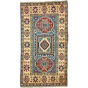 2' x 3' 6 Kazak Oriental Rug