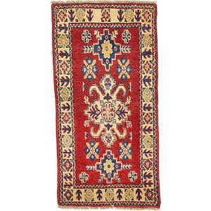 2' x 3' 9 Kazak Oriental Rug