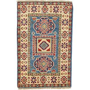 2' x 3' 2 Kazak Oriental Rug