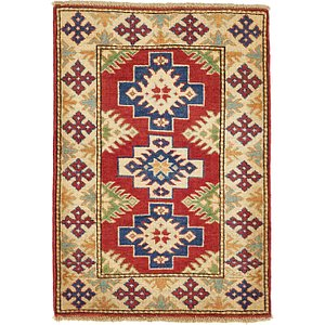 2' 4 x 3' 4 Kazak Oriental Rug