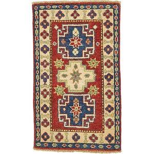 1' 10 x 3' 2 Kazak Oriental Rug