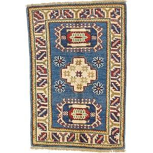 2' x 2' 9 Kazak Oriental Rug