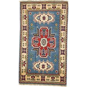 2' x 3' 4 Kazak Oriental Rug