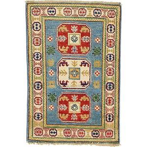 2' x 2' 10 Kazak Oriental Rug