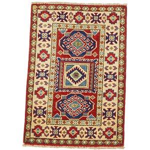 2' x 3' Kazak Oriental Rug