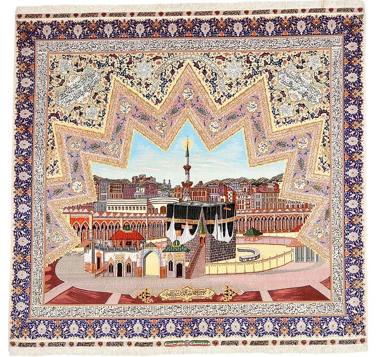 8' 10 x 9' 7 Tabriz Persian Rug