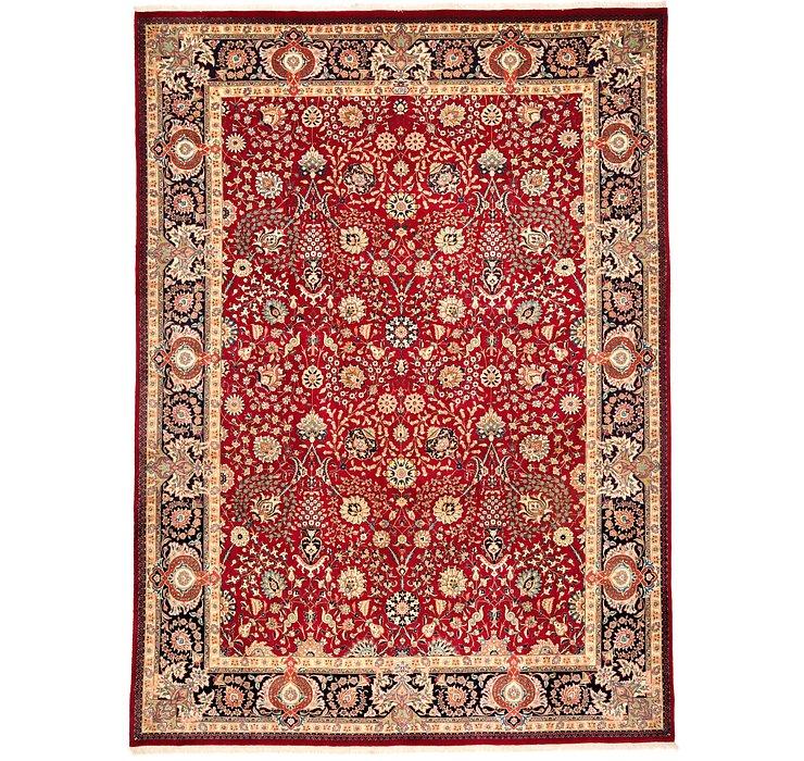 9' 7 x 12' 11 Tabriz Persian Rug