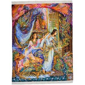 4' 9 x 6' 1 Tabriz Persian Rug