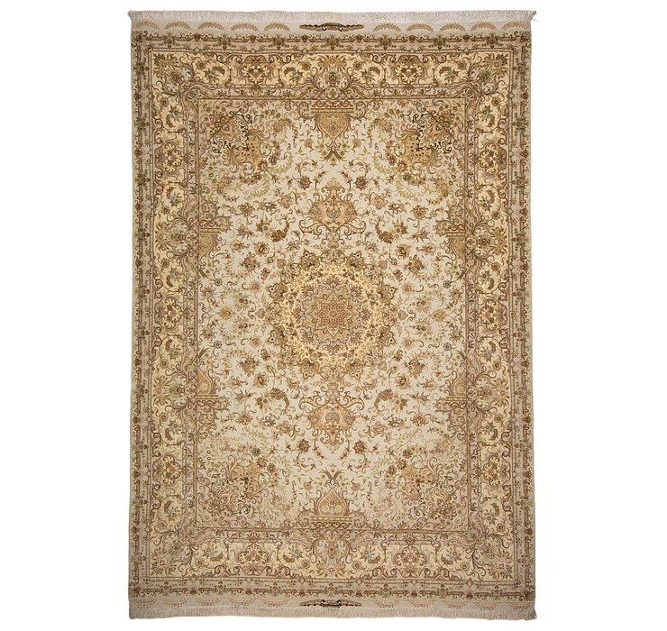 8' 3 x 11' 11 Tabriz Persian Rug