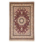 Link to 8' 2 x 11' 11 Tabriz Persian Rug