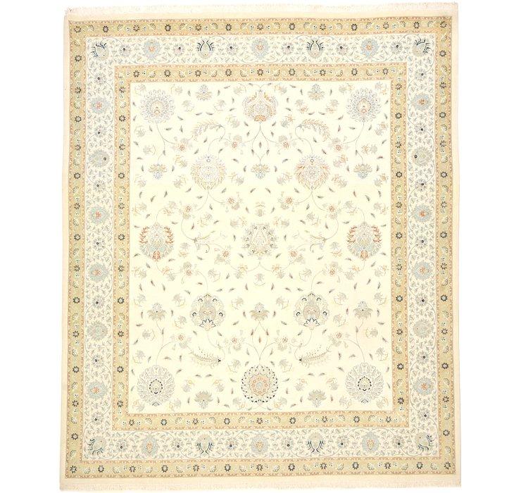 9' 10 x 11' 4 Tabriz Persian Rug