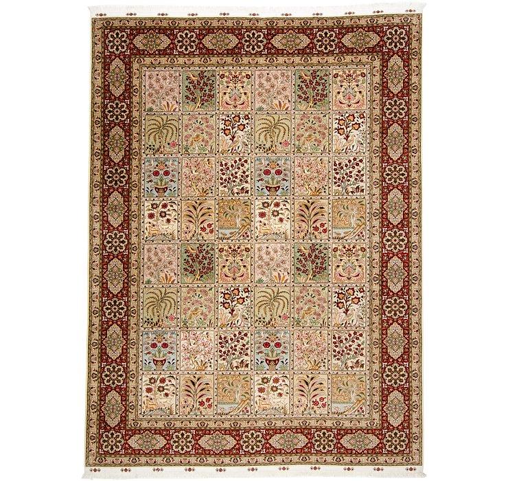 8' 3 x 11' 1 Tabriz Persian Rug