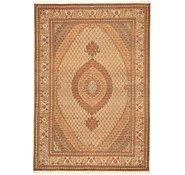 Link to 8' 4 x 12' Tabriz Persian Rug