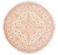 Link to 8' 2 x 8' 2 Tabriz Persian Round Rug