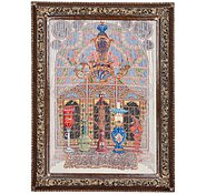 Link to 3' 3 x 4' 9 Tabriz Persian Rug