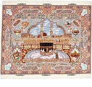Link to 157cm x 203cm Tabriz Persian Rug