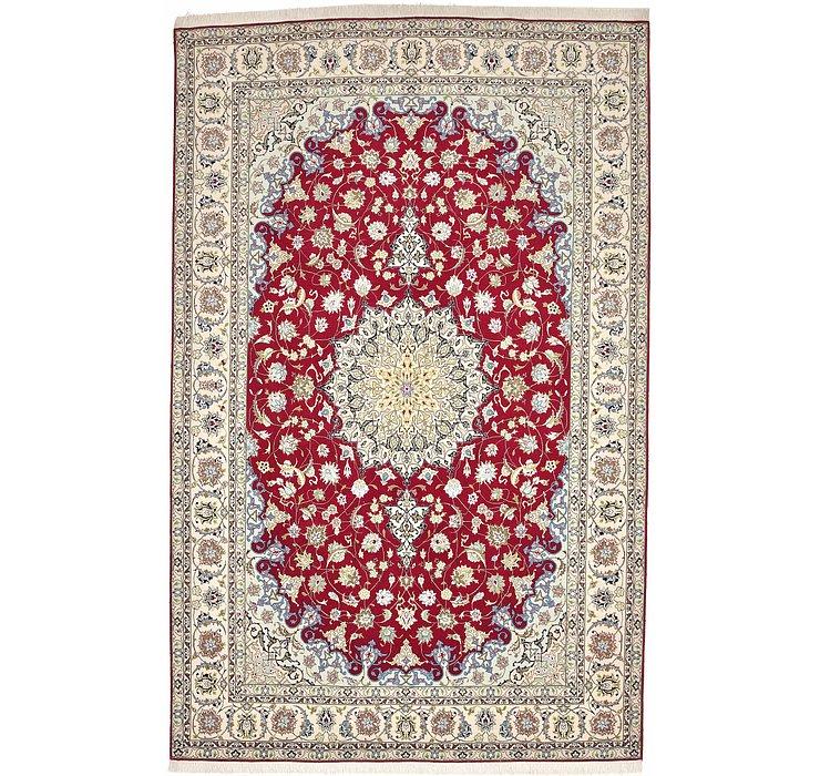 6' 8 x 10' 6 Tabriz Persian Rug