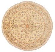 Link to 6' 7 x 6' 7 Tabriz Persian Round Rug