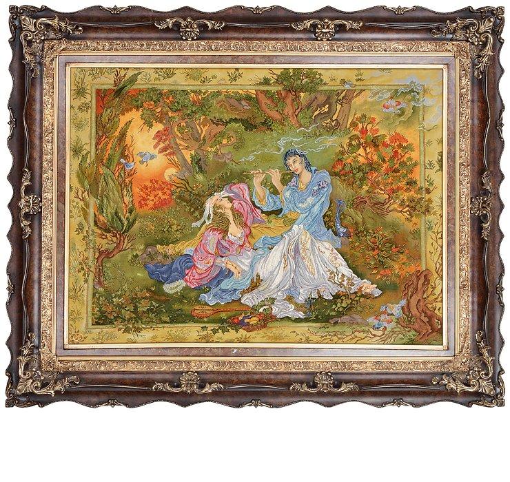 3' 7 x 4' 10 Tabriz Persian Rug