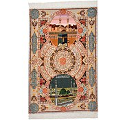 Link to 3' 5 x 5' 2 Tabriz Persian Rug