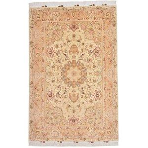 5' 3 x 8' Tabriz Persian Rug