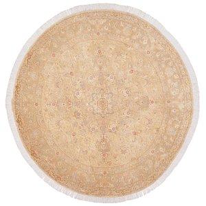 6' 4 x 6' 4 Tabriz Persian Round Rug