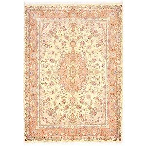 5' 6 x 7' 8 Tabriz Persian Rug