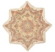 Link to 6' 7 x 6' 7 Tabriz Persian Octagon Rug