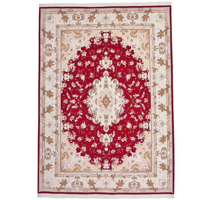 5' 7 x 7' 11 Tabriz Persian Rug