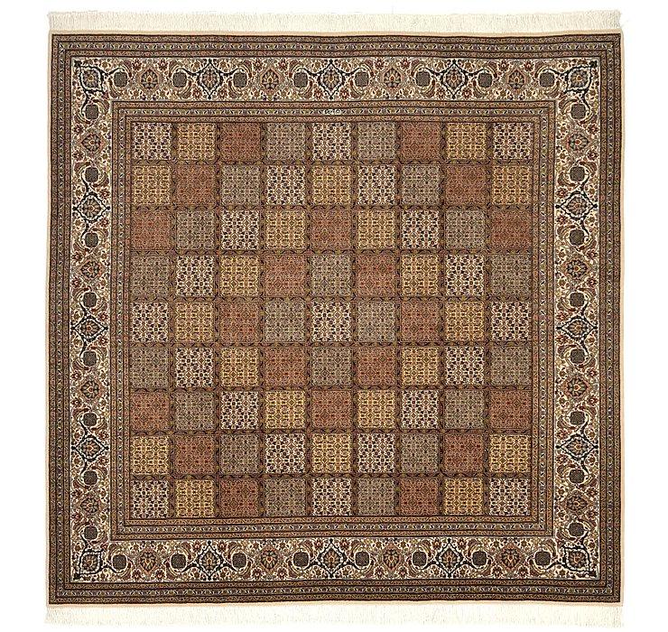 6' 7 x 6' 9 Tabriz Persian Square Rug