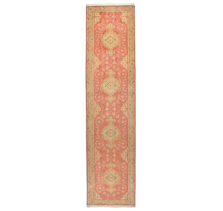 3' 1 x 12' 10 Tabriz Persian Runner Rug