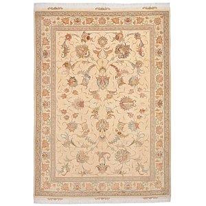 5' 1 x 7' Tabriz Persian Rug