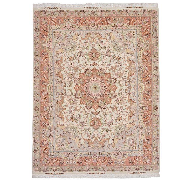 4' 9 x 6' 5 Tabriz Persian Rug