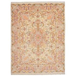 5' x 6' 6 Tabriz Persian Rug