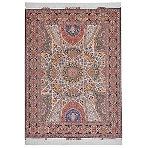 5' 2 x 6' 9 Tabriz Persian Rug