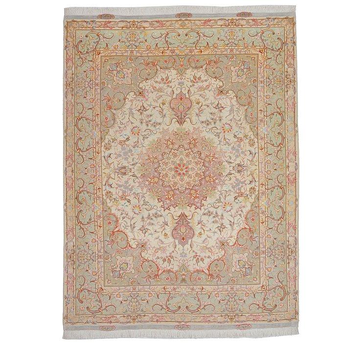 5' 1 x 6' 10 Tabriz Persian Rug