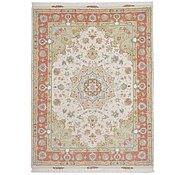 Link to 5' x 6' 9 Tabriz Persian Rug