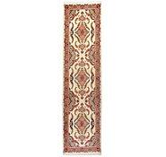 Link to 2' 10 x 11' 2 Tabriz Persian Runner Rug