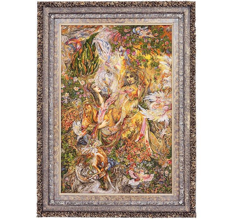 75cm x 112cm Tabriz Persian Rug