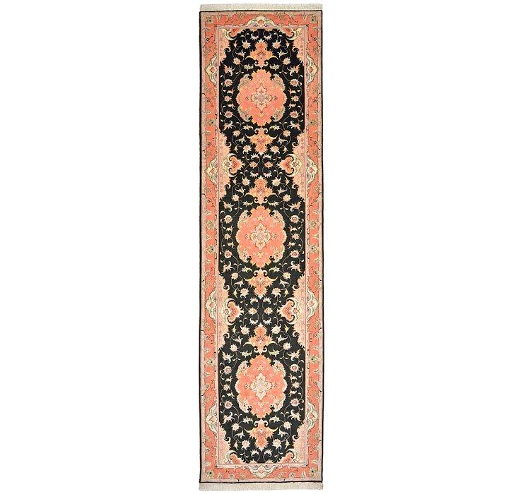 2' 10 x 10' 10 Tabriz Persian Runner Rug