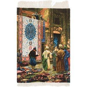 Unique Loom 2' 10 x 4' 1 Tabriz Persian Rug
