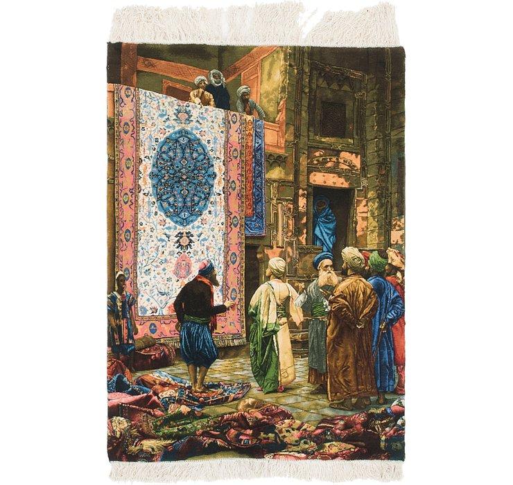 2' 10 x 4' 1 Tabriz Persian Rug