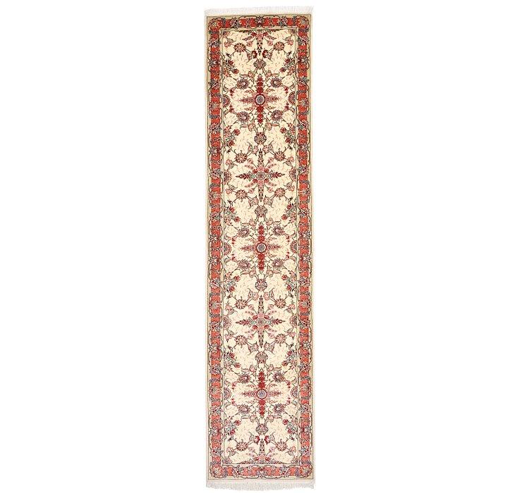 75cm x 325cm Tabriz Persian Runner Rug
