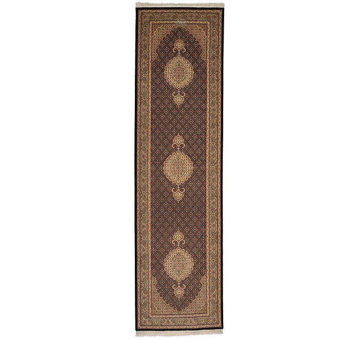 2' 9 x 9' 11 Tabriz Persian Runner Rug