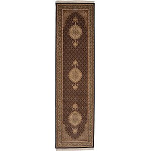 2' 8 x 10' Tabriz Persian Runner Rug
