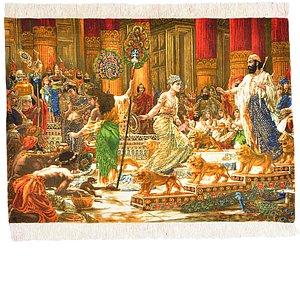2' 9 x 3' 10 Tabriz Persian Rug