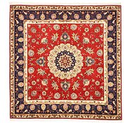 Link to 5' x 5' Tabriz Persian Square Rug