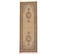 Link to 2' 11 x 8' 1 Tabriz Persian Runner Rug