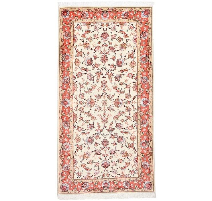 3' 4 x 6' 5 Tabriz Persian Runner Rug